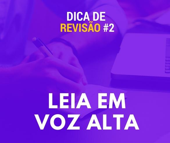 dicas de revisão língua portuguesa
